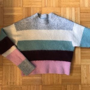 H&M Colourblock Knit Sweater